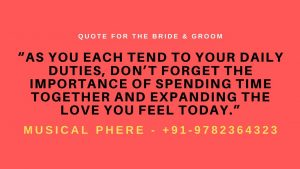 Wedding Musical Pheras Contact Number - Quote for Bride and Groom