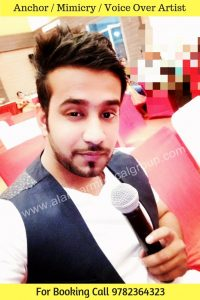 Best Anchor in Jaipur, Rajasthan, Male Host For Wedding, Male Emcee in Jaipur, Rajasthan, Delhi