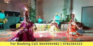 Fire matka dance, Fire Chari Dance, Fire Ghada Dance by Ladies