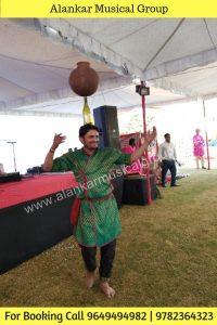 Gramin bhavai Lok Nritya From Rural Rajasthan, Water Paani matka Dance Balance
