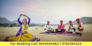 Indian Folk Musician and Folk Tribal Dance Act - Rhythm Alankar Musical Group