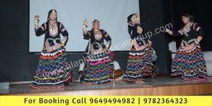 Rajasthani Kalbelia Dance Performance at Modi College, Laxmangarh