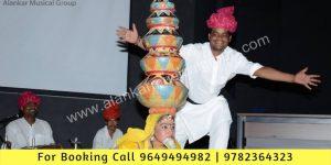 Kishangarh Bhavai Dance Act of Rajasthan, Dance Troupe Chennai