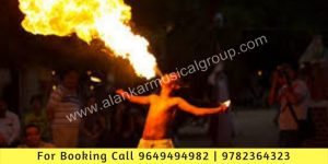 Mouth Fire Stunt Shows Booking, Fire Eating Shows
