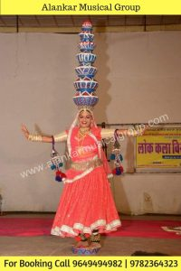 Rajasthan Famous Bhavai Dance Group of rajasthan