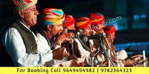 Rajasthani Folk Music and Dance Shows, Artist For Folk Shows