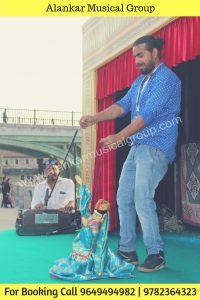 Top Puppet Show Organisers Dubai, Rajasthani Puppet Kathputli Dance At DUBAI PARK