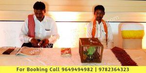 Jyotish Pandit Astrologer Stall Setup Jaipur Rajasthan