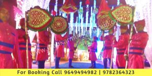 Lawazma Wala Jaipur, Bridal Entry in Royal Theme, Bridal Entry With Lawazma