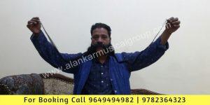 Long Mustache Artist Jaipur, Badi Mucchowala World Record Artist