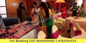 Rajasthani Juti Mojri stall in Wedding Events Jaipur