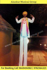 Stilt Walker Jaipur, Bamboo Artist Jaipur, Delhi Rajasthan, Long Man Artist Jaipur